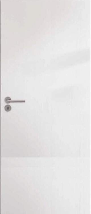 Interiérové dveře Naturel Ibiza pravé 70 cm bílé IBIZABF70P WC bílá bílá
