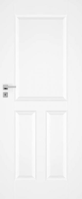Interiérové dveře Naturel Nestra levé 90 cm bílé NESTRA190L bílá bílá