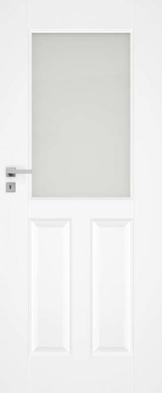 Interiérové dveře Naturel Nestra pravé 80 cm bílé NESTRA280P bílá bílá