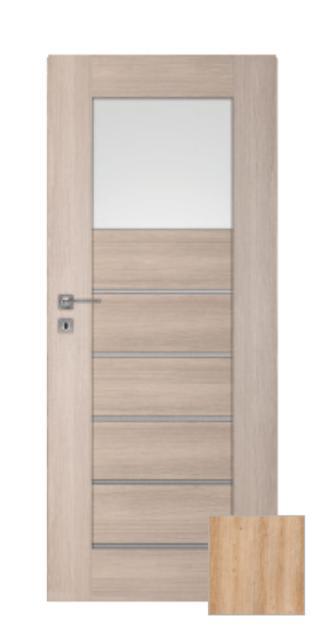 Interiérové dveře Naturel Perma levé 70 cm jilm PERMA1J70L dřevodekor