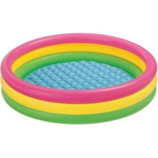 Intex Bazén nafukovací Intex dětský SOFT DNO 114x25 cm