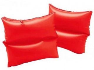 INTEX Rukávky neonové dvě komory 19x19 cm  červená