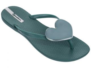 Ipanema petrolejové žabky Maxi Fashion Ii Fem Green/Green - 35/36 dámské 35/36