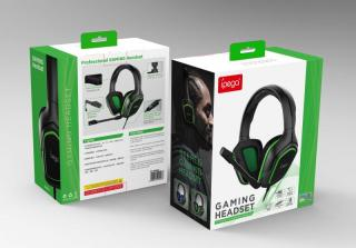iPega PG-R006 Gaming Headset s Mikrofonem Green