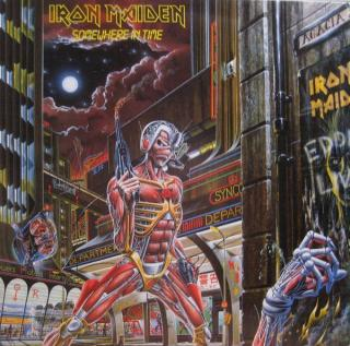 Iron Maiden Somewhere In Time  Black