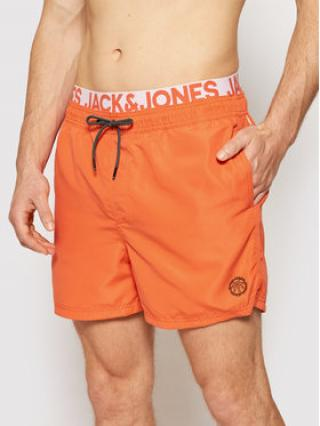 Jack&Jones Plavecké šortky Bali 12183795 Oranžová Regular Fit pánské XS
