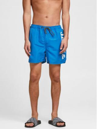 Jack&Jones Plavecké šortky Bali 12183806 Modrá Regular Fit pánské XS