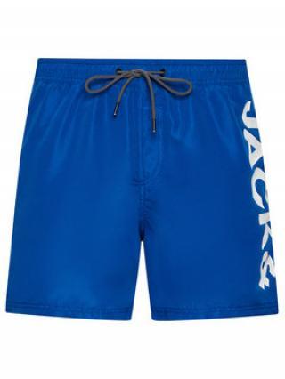Jack&Jones Plavecké šortky Bali 12183806 Tmavomodrá Regular Fit pánské XL