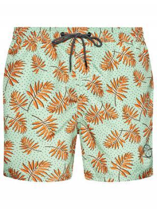 Jack&Jones Plavecké šortky Bali 12184801 Zelená Regular Fit pánské XS