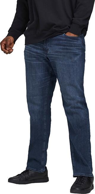 Jack&Jones PLUS Pánské džíny Slim Fit JJIGLENN JJORIGINAL 12188522 Blue Denim 42/36 pánské