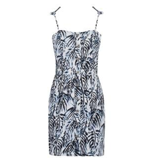 Jack Wills Honeybalme Palm Tie Shoulder Dress dámské Other S