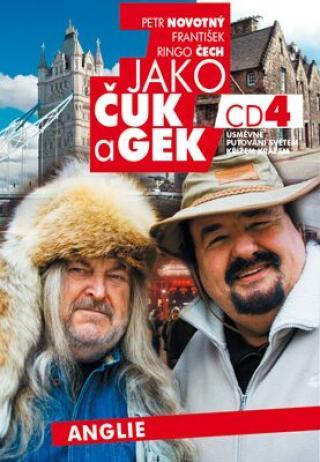 Jako Čuk a Gek 4 - Petr Novotný, František Ringo Čech - audiokniha