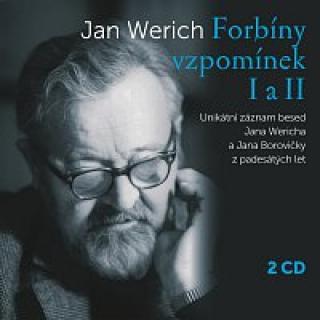 Jan Werich – Forbíny vzpomínek I a II CD