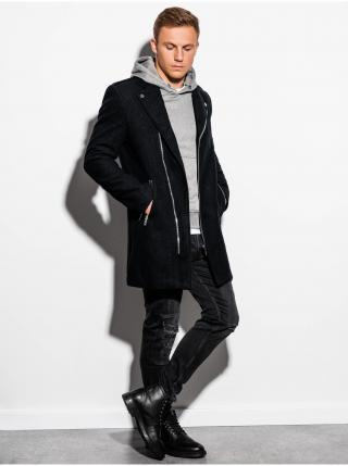 Jarní kabát C433 - černý pánské černá S