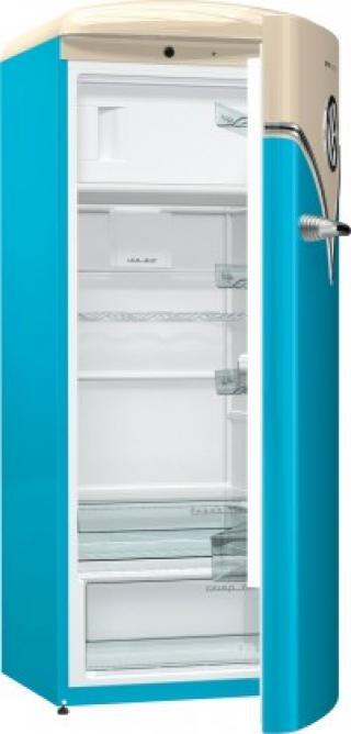 Jednodveřová lednice gorenje obrb153bl, a