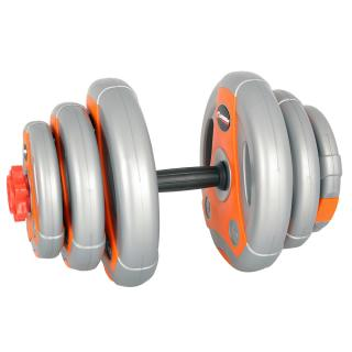 Jednoruční Nakládací Činkový Set Insportline 3-18 Kg Šedo-Oranžov