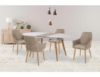 Jídelní stůl Caliber bílá
