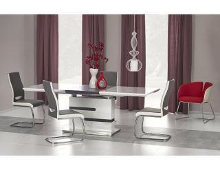 Jídelní stůl Monaco bílá-šedá