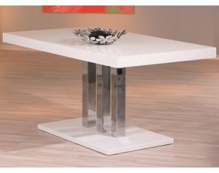Jídelní stůl PALAZZO 160x90 Bílá