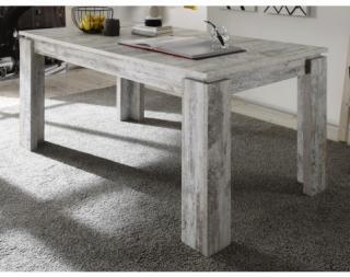 Jídelní stůl Universal 160x90 cm, bělená borovice canyon