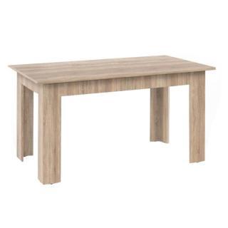 Jídelní stůl v moderním provedení dub sonoma GENERAL
