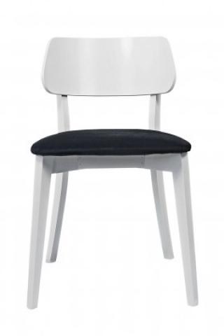 Jídelní židle jídelní židle medal bílá, černá
