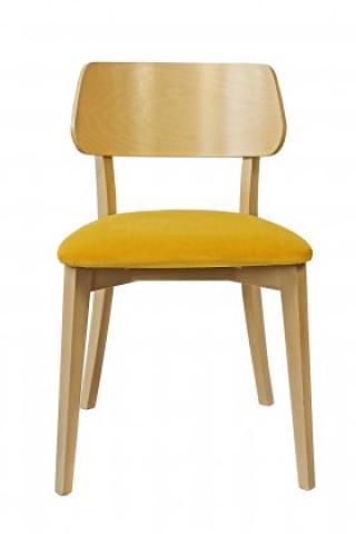 Jídelní židle jídelní židle medal dub, žlutá