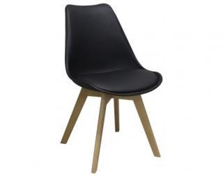 Jídelní židle Larsson, černá