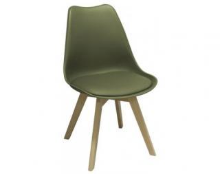 Jídelní židle Larsson, zelená