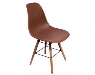 Jídelní židle Lyon, hnědá