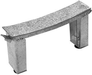 Jika Nohy k vanám PRAGA - kovové stavitelné H2940130000001