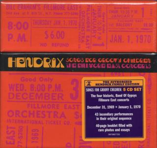 Jimi Hendrix Songs For Groovy Children: The Fillmore East Concerts