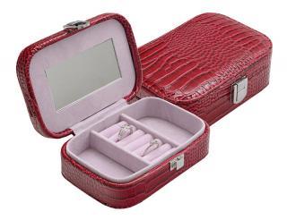 JK Box Červená šperkovnice SP-954/A5 dámské