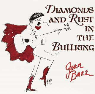 Joan Baez Diamonds and Rust in the Bullring  Black