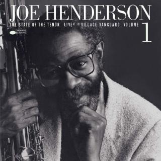 Joe Henderson State Of The Tenor Vol. 1 / Live At The Village Vanguard /1985  Black