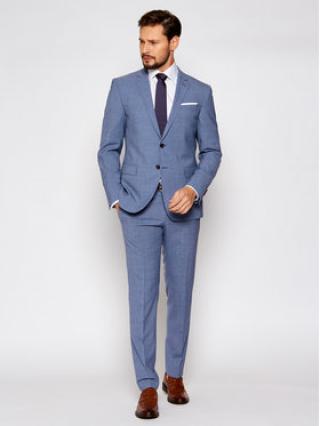 Joop! Oblek 17 Js-Herby-Blayr-Str 30026511 Modrá Slim Fit pánské 56