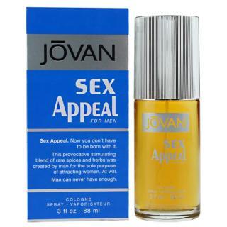 Jovan Sex Appeal kolínská voda pro muže 88 ml pánské 88 ml