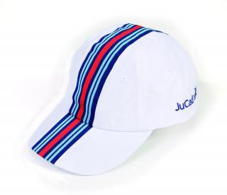 Jucad Cap Racing White UNI