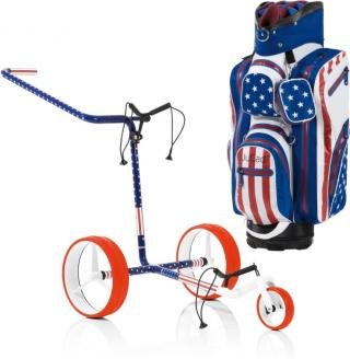 Jucad Carbon 3-Wheel USA SET Blue