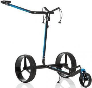 Jucad Carbon Travel 2.0 Electric Golf Trolley Black/Blue