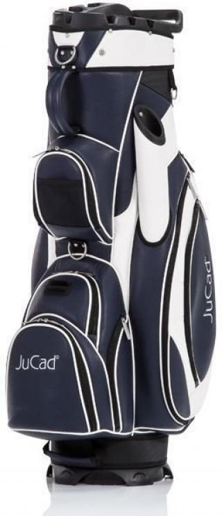Jucad Luxury Dark Blue/White Cart Bag