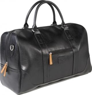 Jucad Sydney Travel Bag Black-Brown