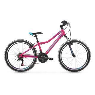 Juniorské Dívčí Kolo Kross Lea Jr 1.0 7Sp 24 - Model 2021 růžová