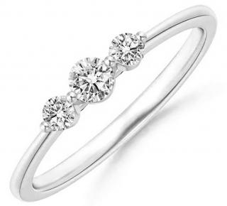 JVD Jemný stříbrný prsten se zirkony SVLR0300XH2BI 54 mm dámské