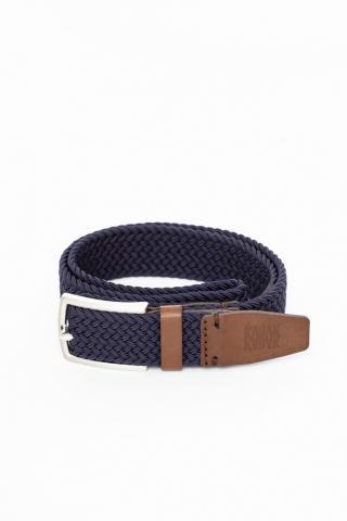 Kabak Unisexs Belt Woven Navy Blue dámské 110