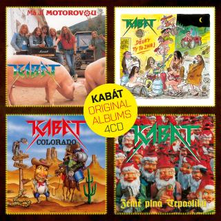 Kabát Original Albums 4CD Vol.1