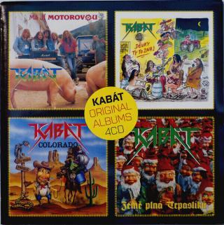Kabát Original Albums 4CD Vol.2