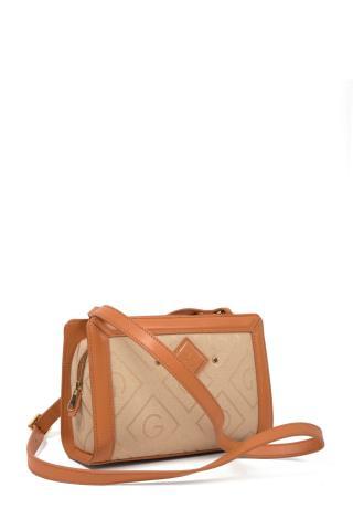 Kabelka Gant D1. Icon G Cross Bag dámské hnědá