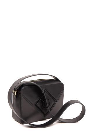 Kabelka Gant D1. Leather Bag dámské černá