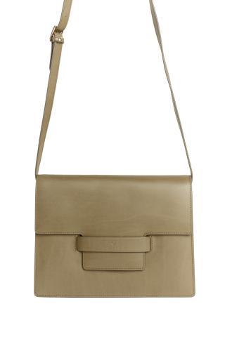 Kabelka Gant D1. Leather Shoulder Bag dámské zelená